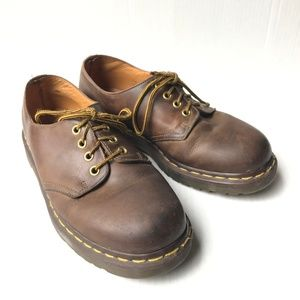 Mens Brown Doc Martens Size 9